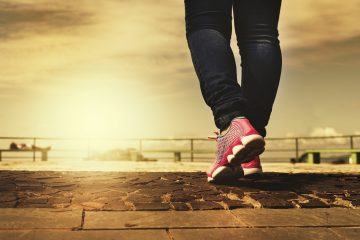 Can changes to walking be learned?